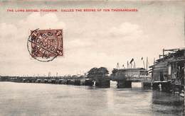 CPA The Long Bridge, FOOCHOW, Called The Bridge Of Ten Thousandages - Chine