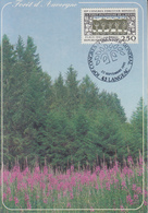 Carte Maximum  1er  Jour    FRANCE  10éme  Congrés  Forestier   Mondial     LANGEAC    1991 - Maximumkarten