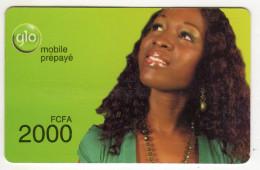 BENIN Prepayé GLO 2000 FCFA - Benin