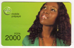 BENIN Prepayé GLO 2000 FCFA - Bénin