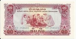 LAOS 10 KIP  ND  UNC  P 20 - Laos