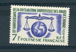 Polynésie  -  1963  :  Yv  25  ** - Unused Stamps