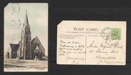 South Africa, Dutch Reformed Church Winburg O.R.C.  , Used, 1/2d, WINBURG O.R.C. 2 JUN 03 > JOHANNESBURG (front). - South Africa