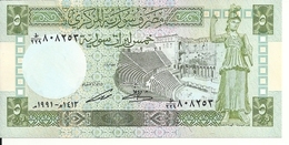 SYRIE  5 POUNDS 1991 UNC P 100 E - Syrie