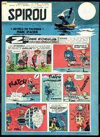"""SPIROU N° 1118 -  Année 1959 - Couverture """" SPIROU """" De FRANQUIN. - Spirou Magazine"""
