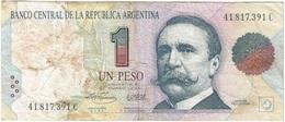Argentina 1 Peso 1993 Pick 339b Ref 2185-2 - Argentina