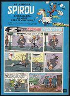 """SPIROU N° 1101 -  Année 1959 - Couverture """" SPIROU """" De FRANQUIN. - Spirou Magazine"""