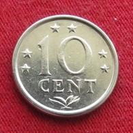 Netherlands Antilles 10 Cents 1975 KM# 10  Antillen Antilhas Antille Antillas - Netherland Antilles