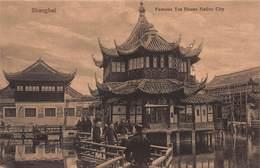 CPA SHANGHAI Famous Tea House Native City - Chine