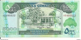 SOMALILAND 5000 SHILLINGS 2011 UNC P 21 - Somalia