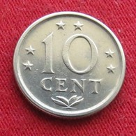 Netherlands Antilles 10 Cents 1976 KM# 10  Antillen Antilhas Antille Antillas - Netherland Antilles