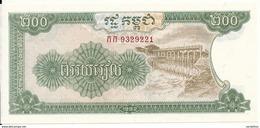CAMBODGE 200 RIELS 1992 UNC P 37 - Cambodge