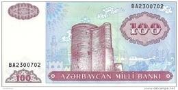 AZERBAIDJAN 100 MANAT ND1993 UNC P 18 - Azerbaïdjan