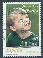 SPANIEN ESPAGNE SPAIN ESPAÑA 2001 CHARITY GRANDPARENTS DAY DÍA ABUELOS ED 3811 YV 3381 MI 3647 SG 3765 SC 31 - 1931-Today: 2nd Rep - ... Juan Carlos I