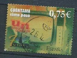 SPANIEN ESPAGNE SPAIN ESPAÑA 2002 TELEVISION ED 3945 YV 3514 MI 3801 SG 3922B SC 3185 - 1931-Today: 2nd Rep - ... Juan Carlos I