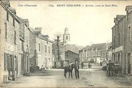 SAINT-COULOMB  --arrivée Route De SAINT-MALO ....    .    -- ELD 1364 - Saint-Coulomb