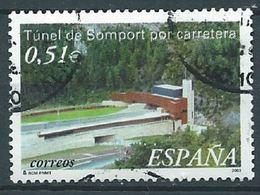 ESPAGNE SPANIEN SPAIN ESPAÑA 2003 ARCHITECTURE TUNNEL OF SOMPORT HUESCA ED 3957 YV 3527 MI 3813 SG 3929 SC 3197 - 1931-Today: 2nd Rep - ... Juan Carlos I