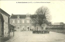 SAINT-COULOMB  -- La Mairie Et L'école Des Garçons    .    -- Sorel 10 - Saint-Coulomb