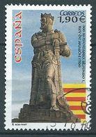 ESPAGNE SPANIEN SPAIN ESPAÑA 2004 ARAGON KING ESCULTURA DE ALFONSO I ED 4127 YV 3706 MI 3706 SG 4127 SC 3328 - 1931-Today: 2nd Rep - ... Juan Carlos I