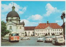 1171/ WARSZAWA Kościól Sakramentek (1975). Bus. Cars, Voitures, Coches, Macchine.- Non écrite. Unused. Non Scritta. - Polonia