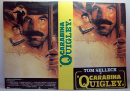 COVER VHS CARABINA QUIGLEY NO VHS - Cassettes Vidéo VHS