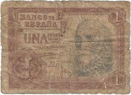 España - Spain 1 Peseta 22-7-1953 Pick 144a Ref 696-7 - [ 3] 1936-1975 : Régimen De Franco