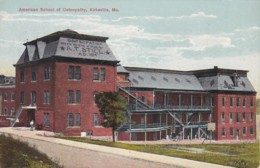 Missouri Kirksville American School Of Osteopathy - United States