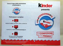 KINDER BROCHURE - Cioccolato