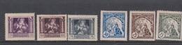 Czechoslovakia SG 61-66 1919 1st Anniversary Of Independence,mint Hinged - Czechoslovakia