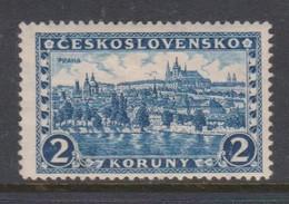 Czechoslovakia SG 263 1926 Hradcany At Prague 2k Blue,mint Hinged - Czechoslovakia