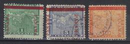 PANAMA  N°s 13*15,16  (1903) - Panama