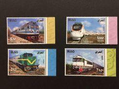 Iraq 2017 Oct Stamp Iraqi Railway Trains Locomotives CKD Stamps MNH - Irak