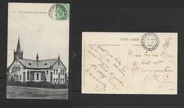 South Africa, Dutch Reformed Church, Robertson, Used, 1/2d, ROBERTSON1 DE 09 > Bloemfontein (Striet & Xanthos (pub) - South Africa