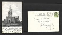 South Africa, Dutch Reformed Church, Ladybrand., Used, 1/2d,...FONTEIN O.R..C. Q OCT 06  C.d.s. > STELLENBOSCH - South Africa
