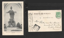 South Africa, Dutch Reformed Church,Adderley St Cape Town, Pulpit, Used, 1/2d, CAPE TOWN MY 8 06 > CERES - South Africa
