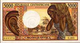 République CENTRAFRICAINE  5000 Francs Pick 12a De 1984nd   AU/SPL - Central African Republic