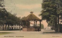 Bourg-Léopold ,Kamp Van Beverloo , Vue De Kiosque ( Color ) Oblitération , Cachet , Allemand 24-5-1915 + Censure - Leopoldsburg (Camp De Beverloo)