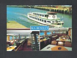 NIEUWPOORT - M.S. BENELUX - NELS   (9260) - Nieuwpoort