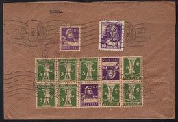 Sekula Luzern - Recobrief In Die USA 1934 Gute Frankatur Mit U. A. K 26 - Michel 220 € - Briefe U. Dokumente