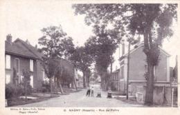 57 - Moselle -  MAGNY ( Metz ) - Rue De Peltre - Francia