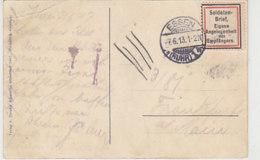 Soldatenbrief (Vignette) .. Aus ESSEN 7.6.13 AK-Essen - Allemagne