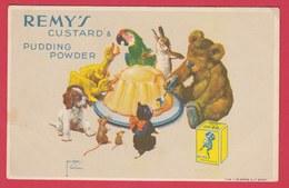 Carte Publicitaire - Remy's Custard & Pudding Powder ( Voir Verso ) - Publicité