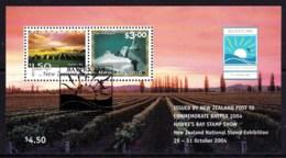 New Zealand 2004 BAYPEX - Hawke's Bay Stamp Show Minisheet Used - New Zealand