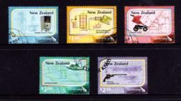 New Zealand 2007 Clever Kiwis Set Of 5 Used - New Zealand