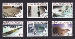 New Zealand 2008 Weather Extremes Set Of 6 Used - New Zealand