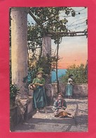 Old Post Card Of Pergola,Capri, Campania, Italy ,K65. - Italia
