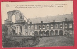 Abbaye D'Aulne - Façade Extérieure De L'ancienne église, Salle De Vieillards - 1914 ( Voir Verso ) - Thuin