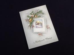 Mignonette Carte Meilleurs Voeux   (80X110)mm - Nieuwjaar