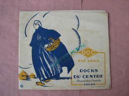 "Rare Catalogue 1923 ""Docks Du Centre"" L'avant Mammouth 40 Pages 21X26 BE - France"
