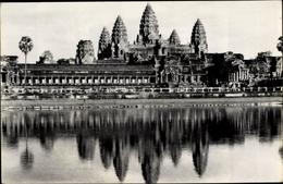 Cp Kambodscha, Angkor Vat, Vue D'ensemble - China